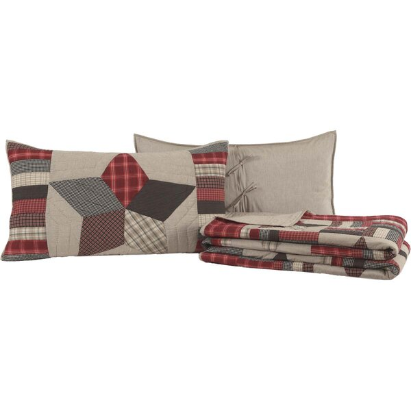 Aguayo 100% Cotton Reversible Quilt Set by August Grove